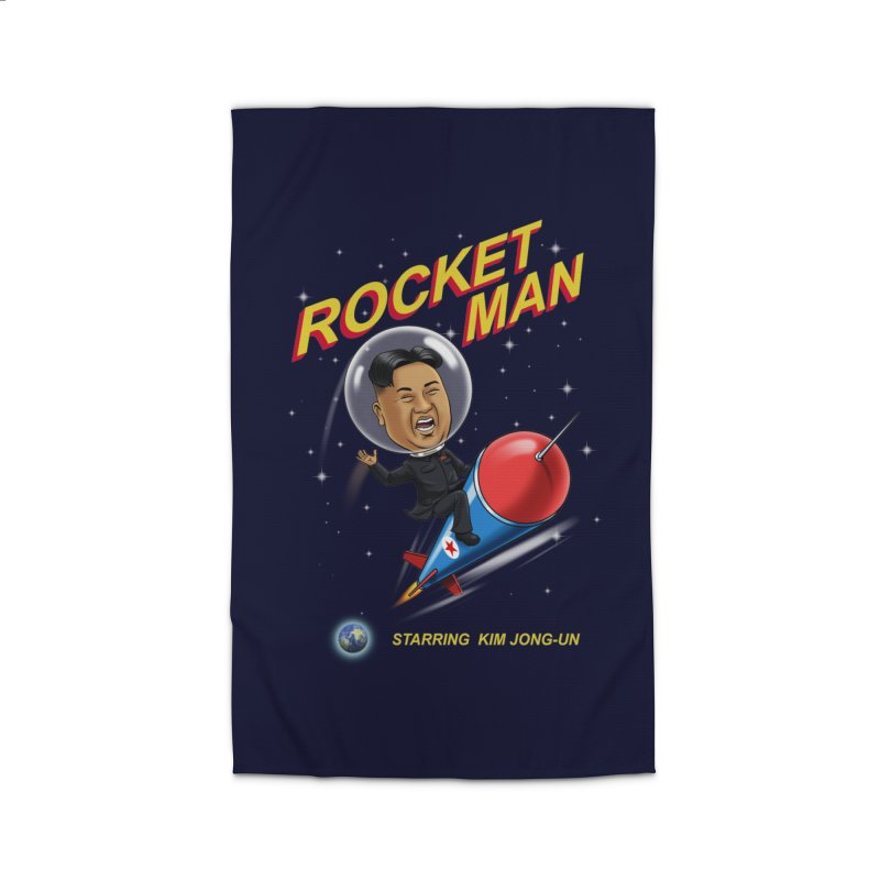 Rocket Man Home Rug by steveash's Artist Shop