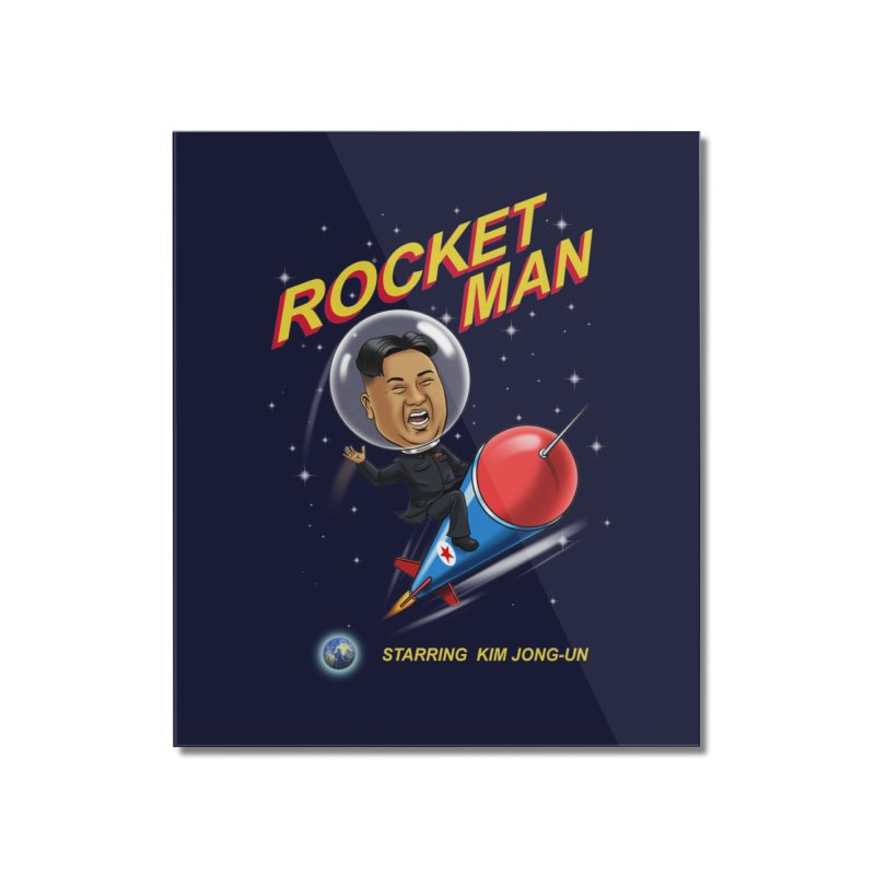Rocket Man Home Mounted Acrylic Print by steveash's Artist Shop