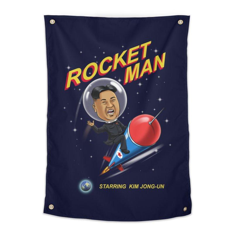 Rocket Man Home Tapestry by steveash's Artist Shop