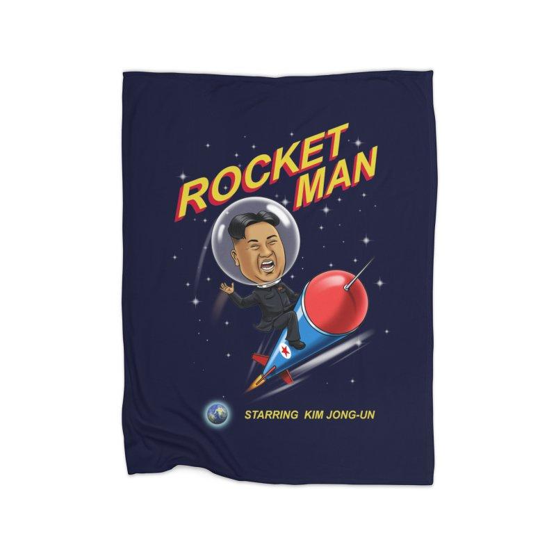 Rocket Man Home Blanket by steveash's Artist Shop
