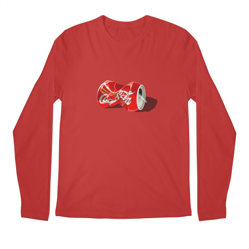 Crushed Men's Longsleeve T-Shirt by steveash's Artist Shop