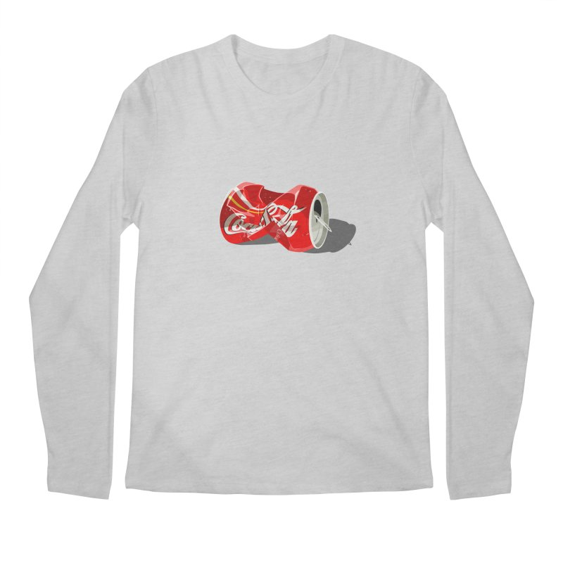 Crushed Men's Regular Longsleeve T-Shirt by steveash's Artist Shop