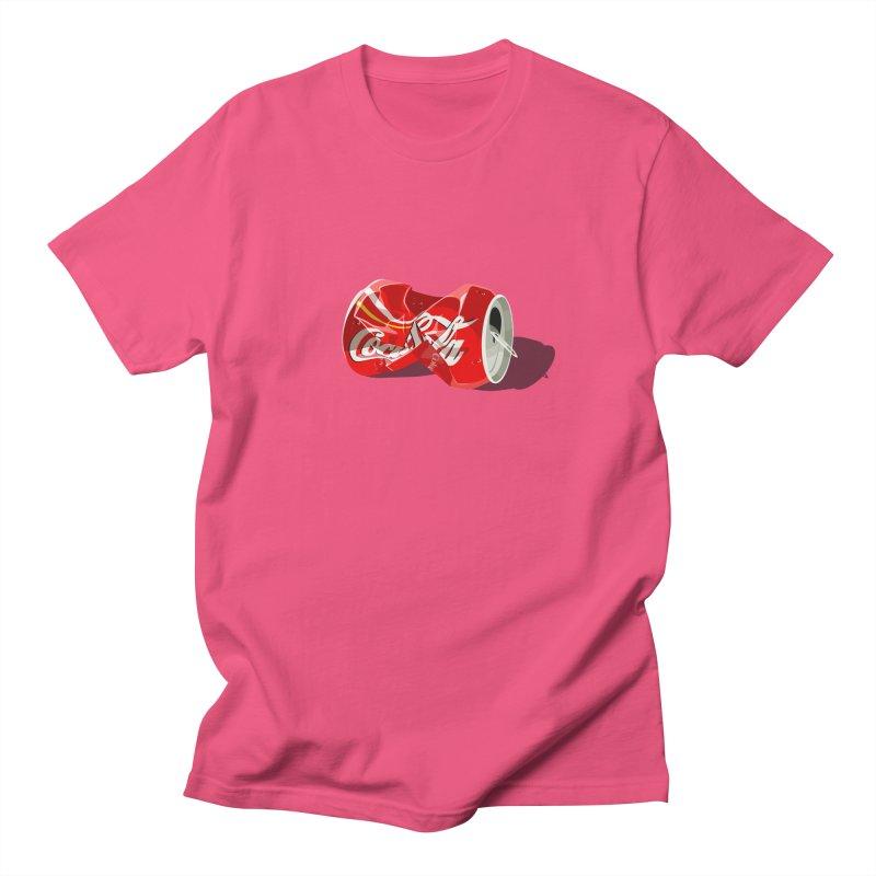 Crushed Men's Regular T-Shirt by steveash's Artist Shop