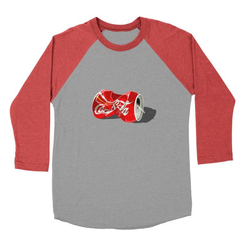 Crushed Men's Baseball Triblend T-Shirt by steveash's Artist Shop