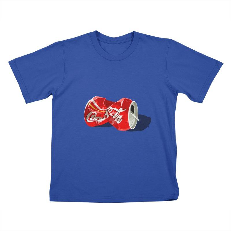 Crushed Kids T-Shirt by steveash's Artist Shop