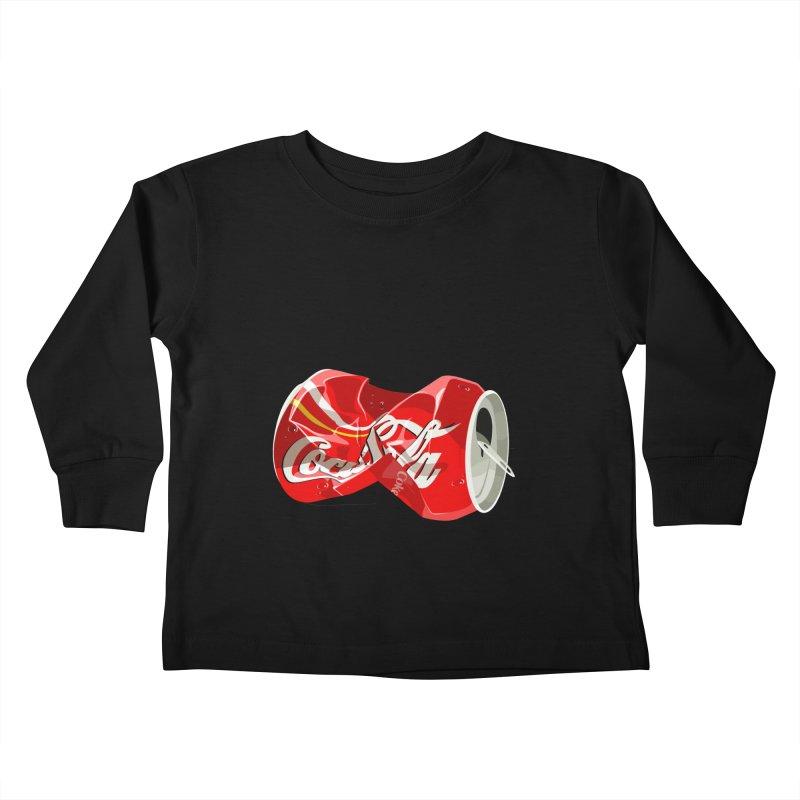 Crushed Kids Toddler Longsleeve T-Shirt by steveash's Artist Shop