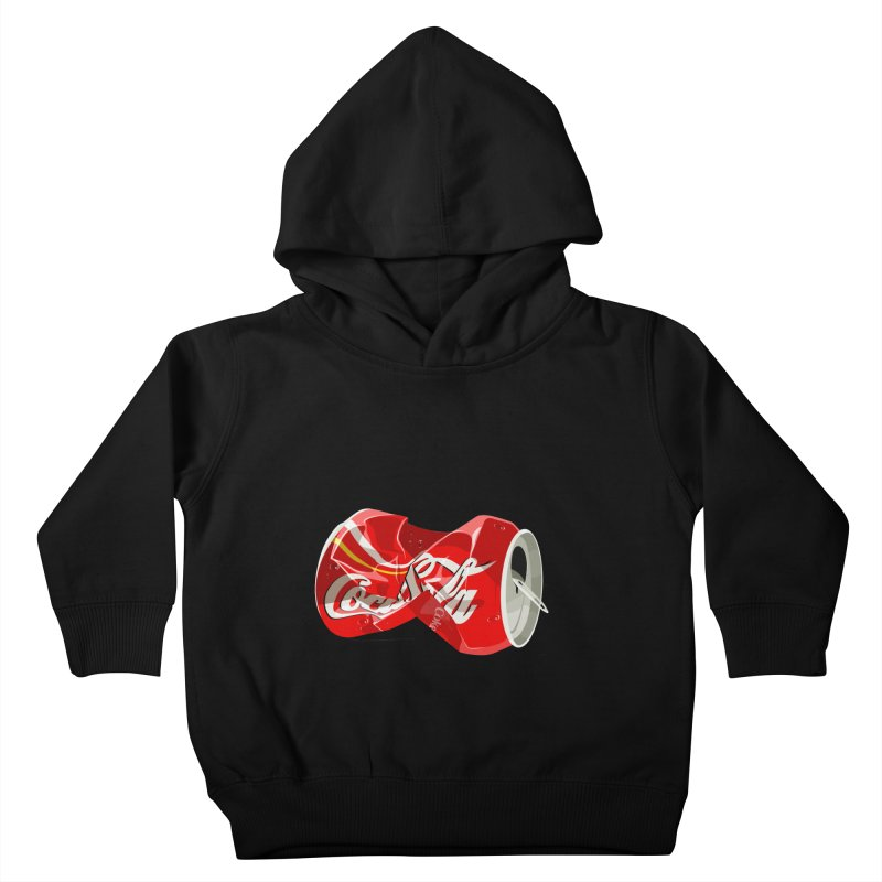 Crushed Kids Toddler Pullover Hoody by steveash's Artist Shop