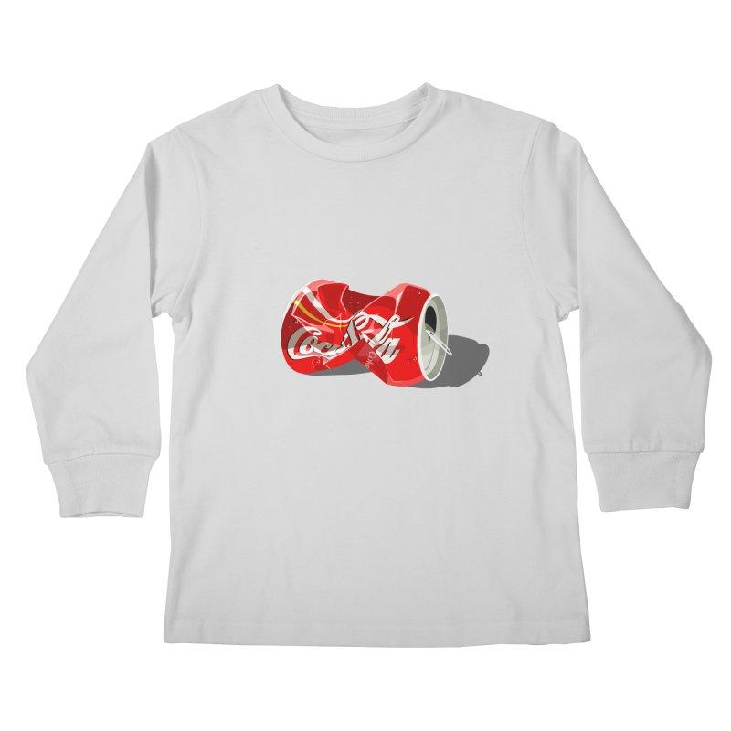 Crushed Kids Longsleeve T-Shirt by steveash's Artist Shop