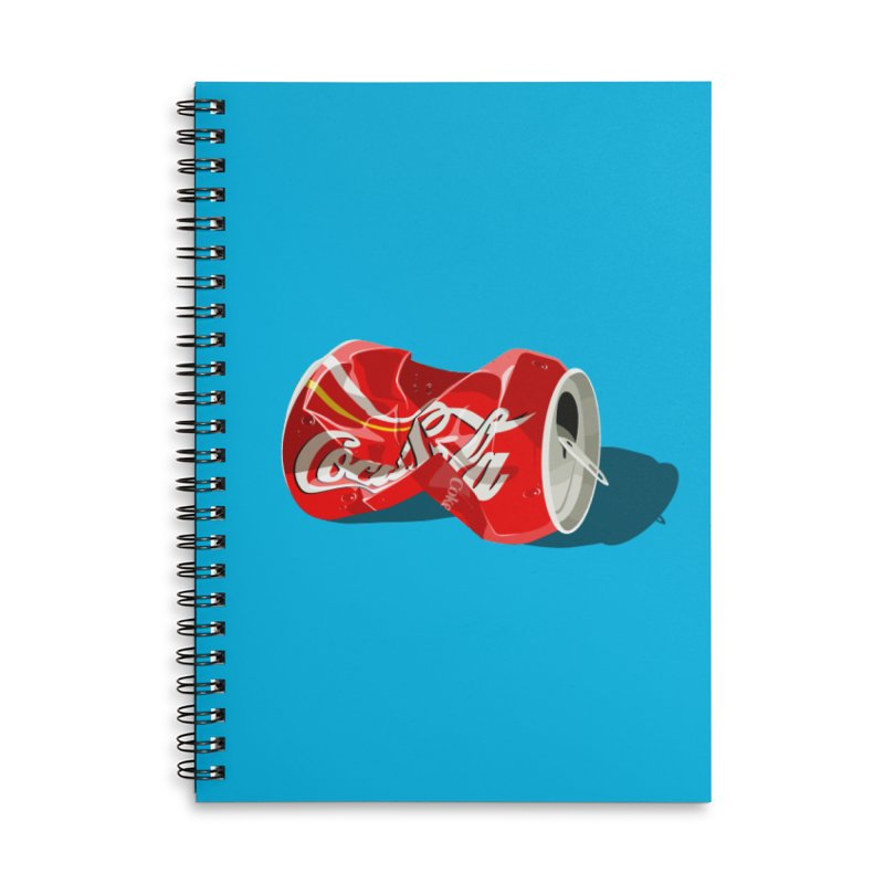 Crushed Accessories Lined Spiral Notebook by steveash's Artist Shop