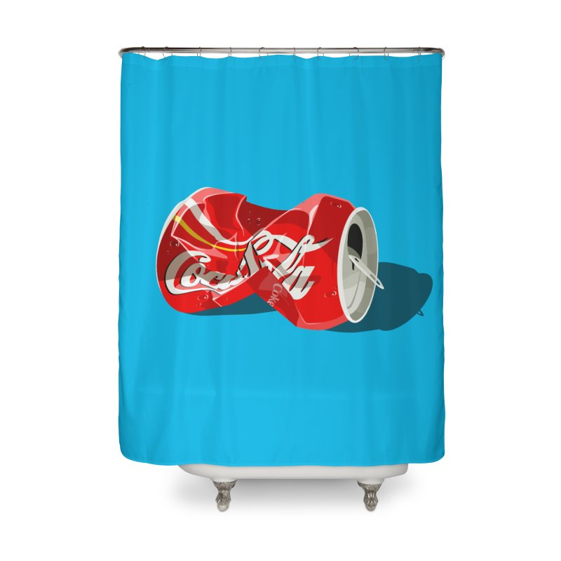 Crushed Home Shower Curtain by steveash's Artist Shop