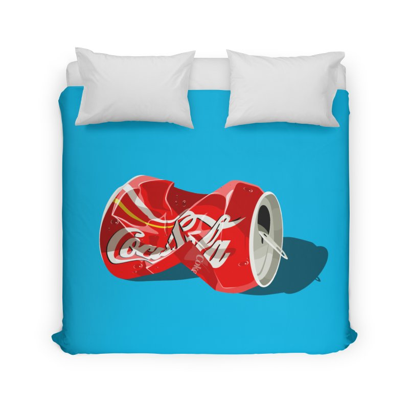 Crushed Home Duvet by steveash's Artist Shop
