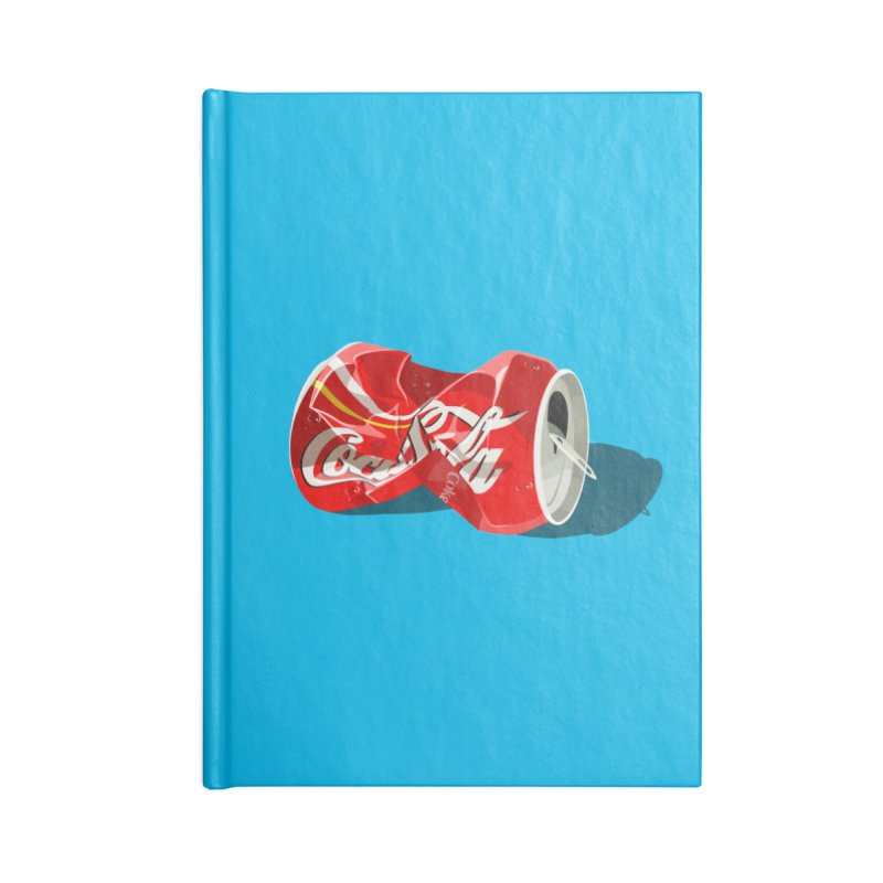 Crushed Accessories Lined Journal Notebook by steveash's Artist Shop