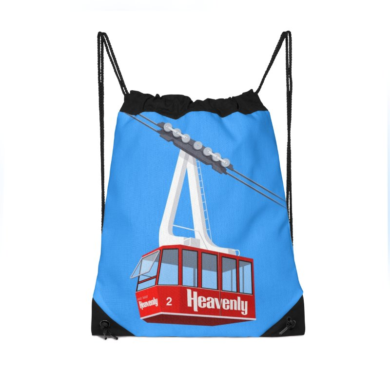 Heavenly Accessories Drawstring Bag Bag by steveash's Artist Shop