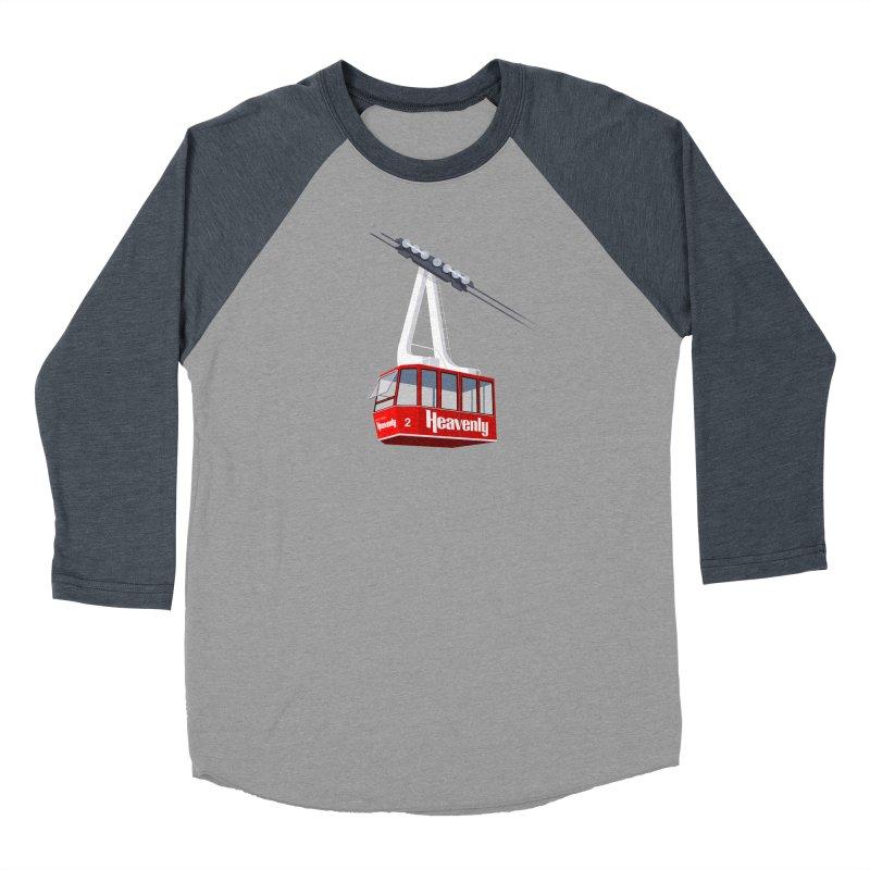 Heavenly Women's Baseball Triblend Longsleeve T-Shirt by steveash's Artist Shop