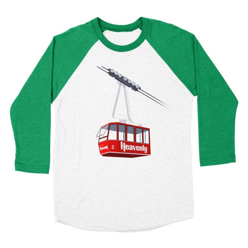 Heavenly Men's Baseball Triblend Longsleeve T-Shirt by steveash's Artist Shop