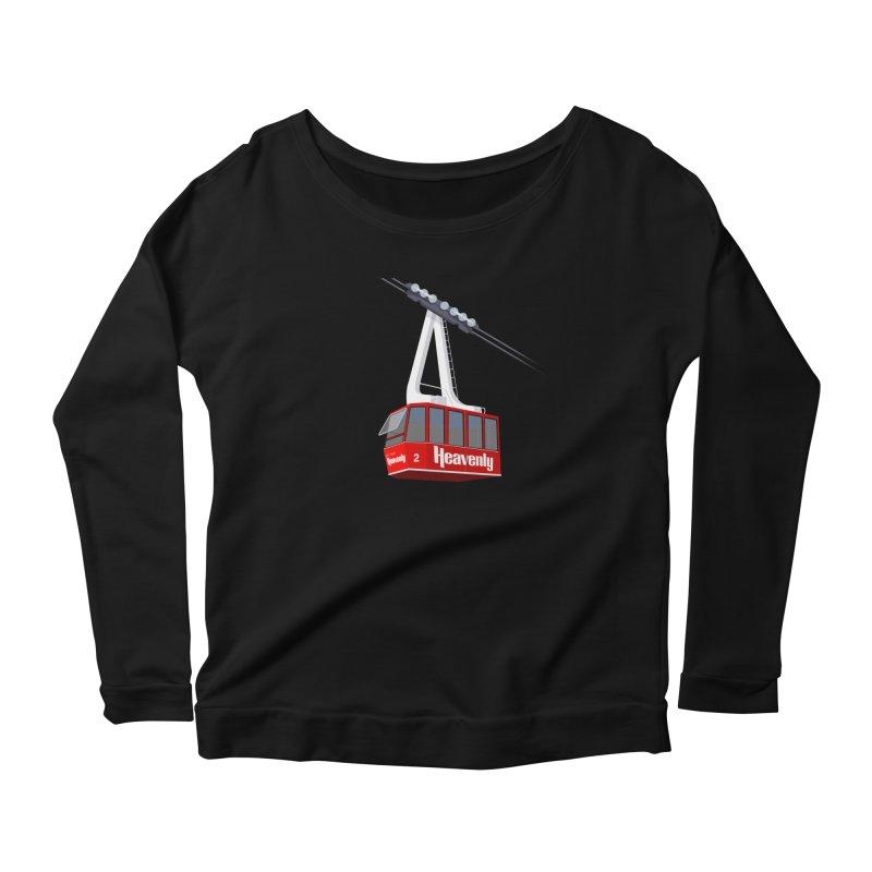 Heavenly Women's Scoop Neck Longsleeve T-Shirt by steveash's Artist Shop