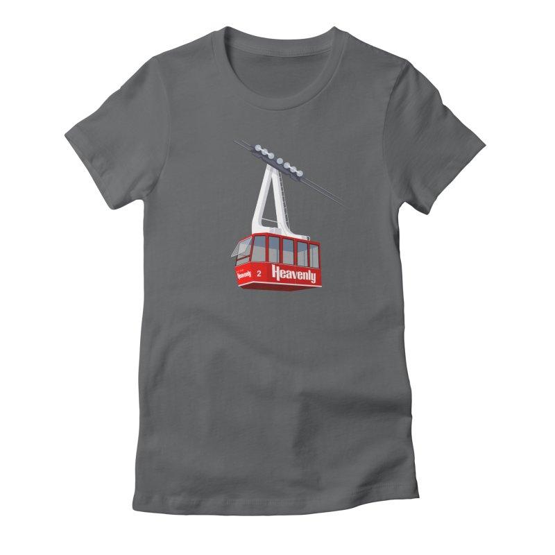 Heavenly Women's Fitted T-Shirt by steveash's Artist Shop