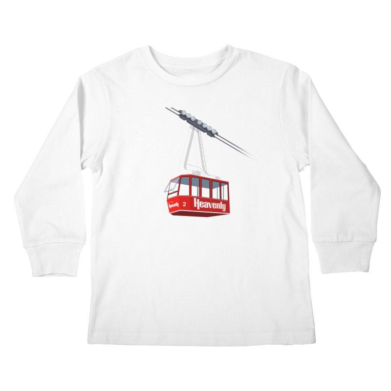 Heavenly Kids Longsleeve T-Shirt by steveash's Artist Shop
