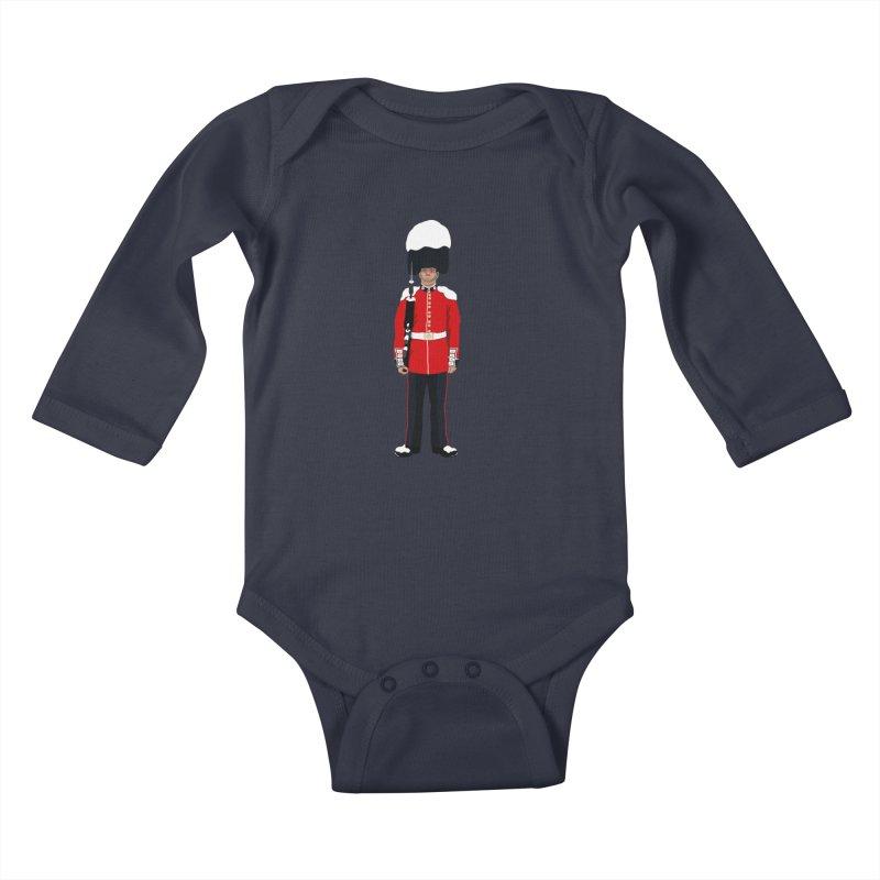 Changing of the Seasons Kids Baby Longsleeve Bodysuit by steveash's Artist Shop