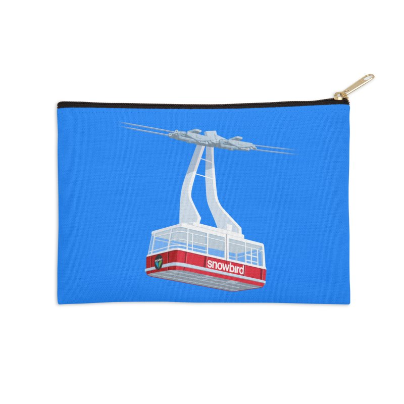 Snowbird Accessories Zip Pouch by steveash's Artist Shop
