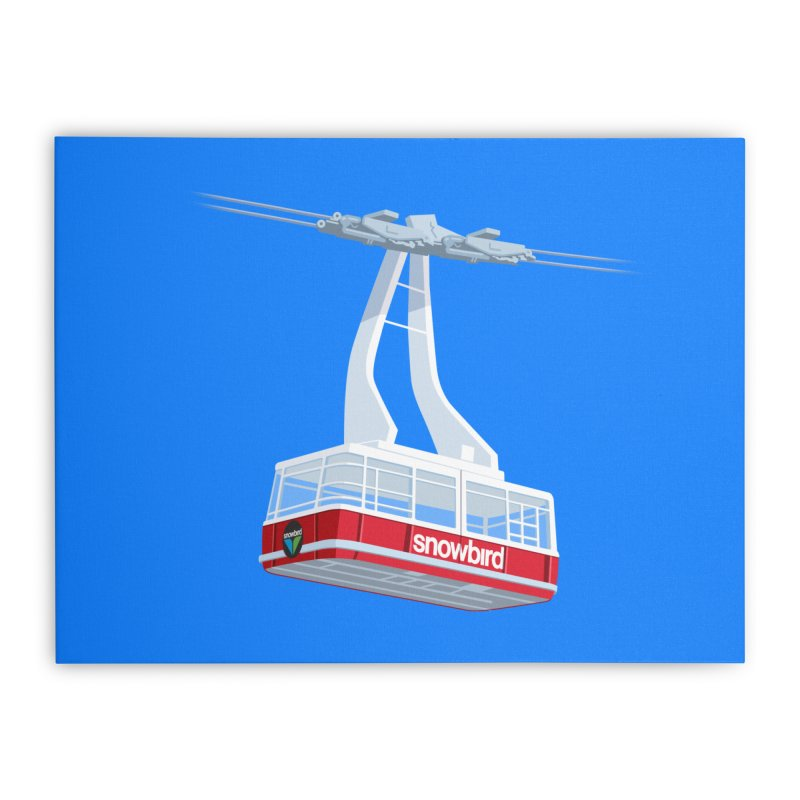 Snowbird Home Stretched Canvas by steveash's Artist Shop