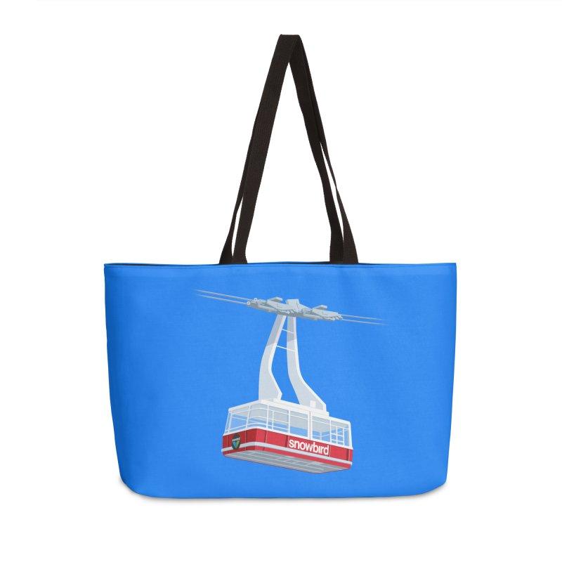 Snowbird Accessories Weekender Bag Bag by steveash's Artist Shop