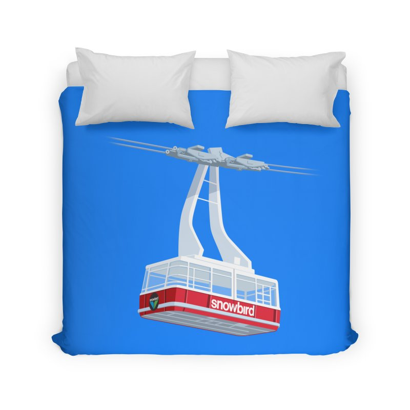 Snowbird Home Duvet by steveash's Artist Shop
