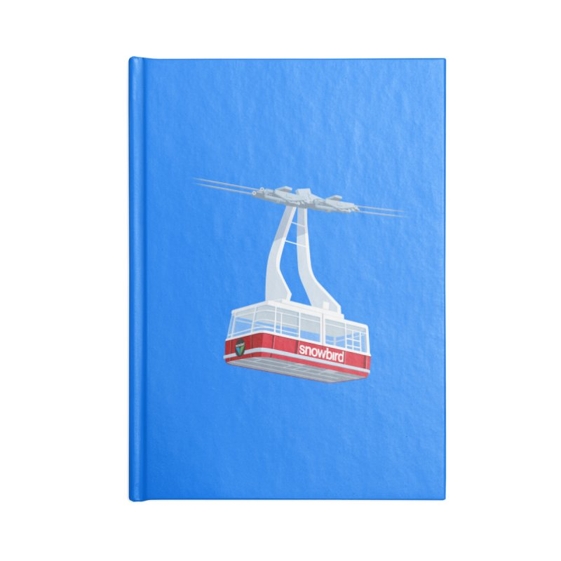 Snowbird Accessories Notebook by steveash's Artist Shop
