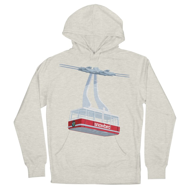 Snowbird Men's French Terry Pullover Hoody by steveash's Artist Shop