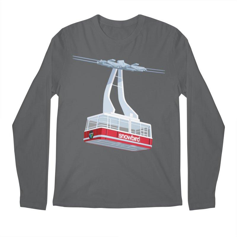 Snowbird Men's Regular Longsleeve T-Shirt by steveash's Artist Shop