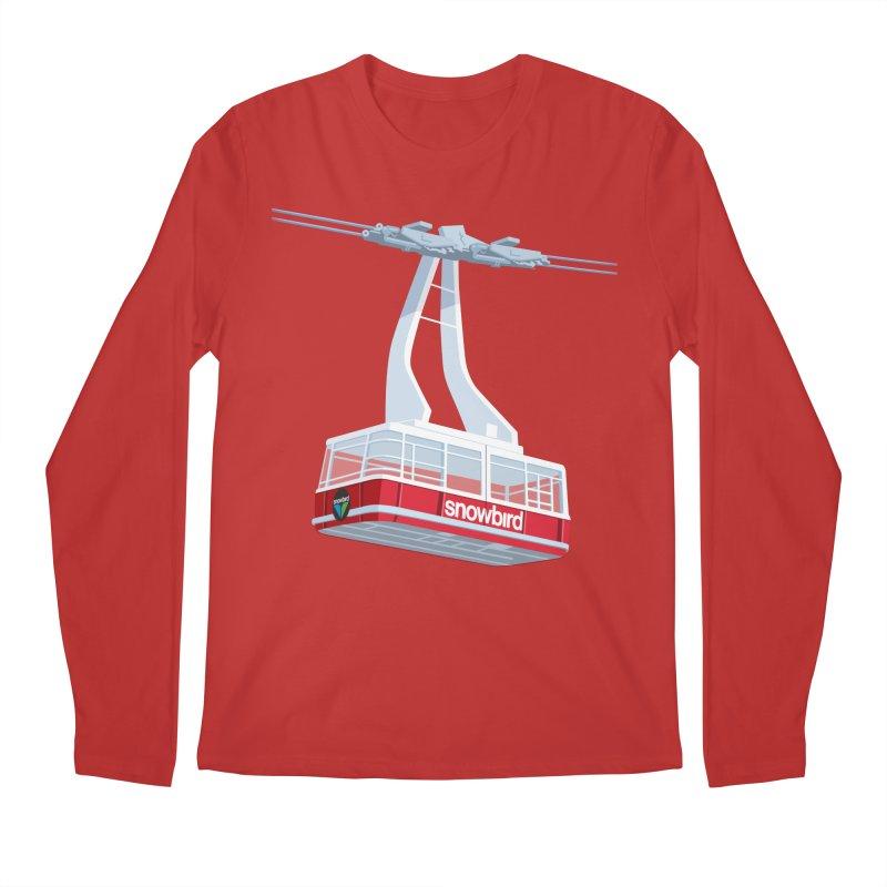 Snowbird Men's Longsleeve T-Shirt by steveash's Artist Shop