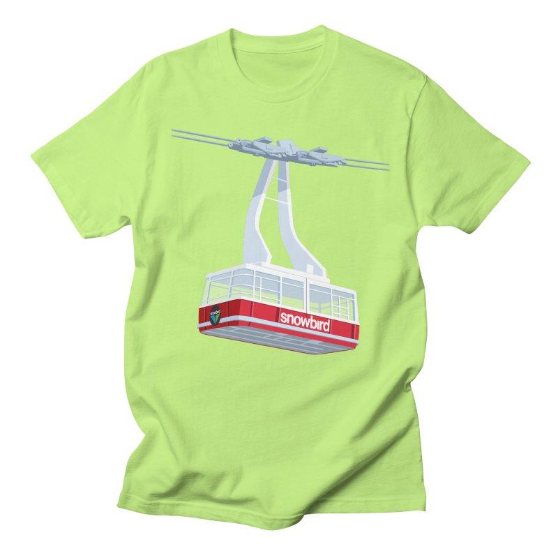 Snowbird Men's Regular T-Shirt by steveash's Artist Shop