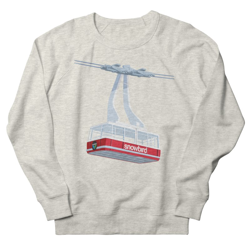 Snowbird Women's French Terry Sweatshirt by steveash's Artist Shop