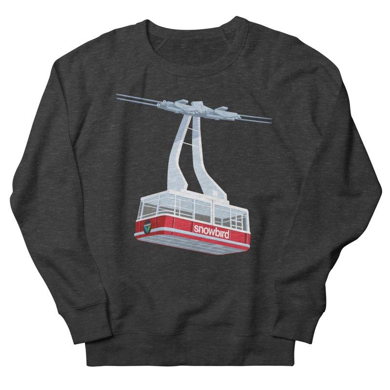 Snowbird Men's French Terry Sweatshirt by steveash's Artist Shop