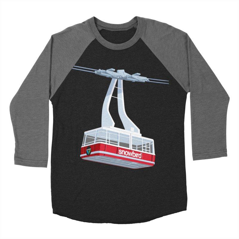 Snowbird Women's Baseball Triblend Longsleeve T-Shirt by steveash's Artist Shop