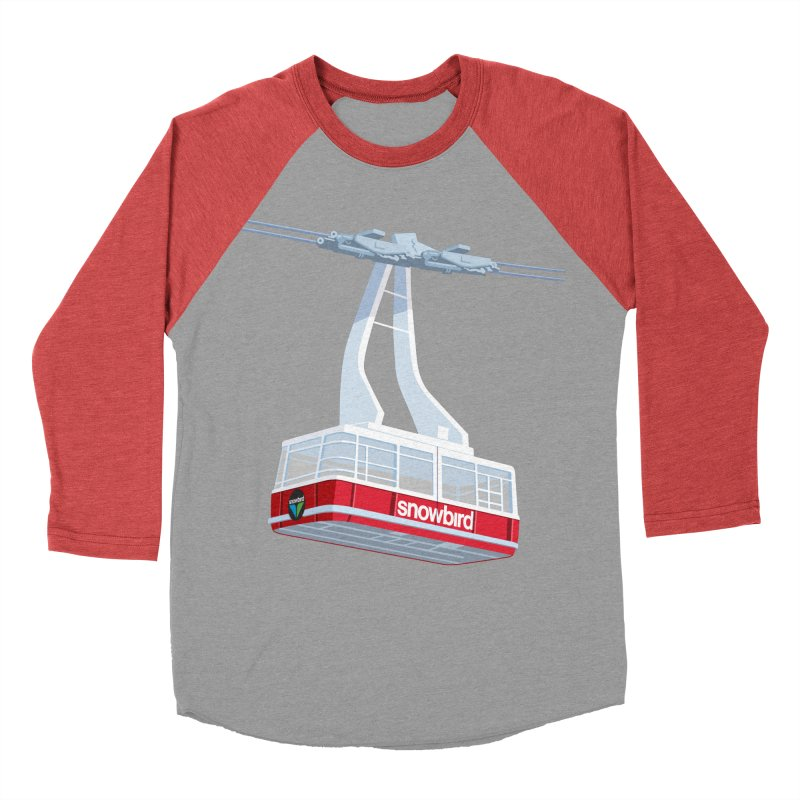 Snowbird Men's Baseball Triblend Longsleeve T-Shirt by steveash's Artist Shop