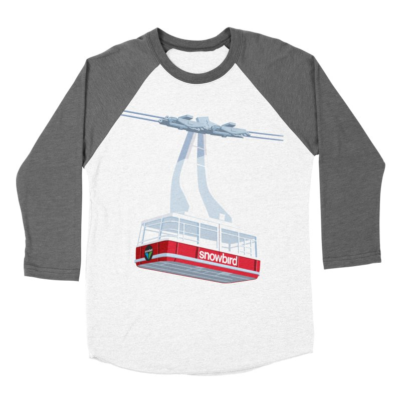 Snowbird Men's Baseball Triblend T-Shirt by steveash's Artist Shop