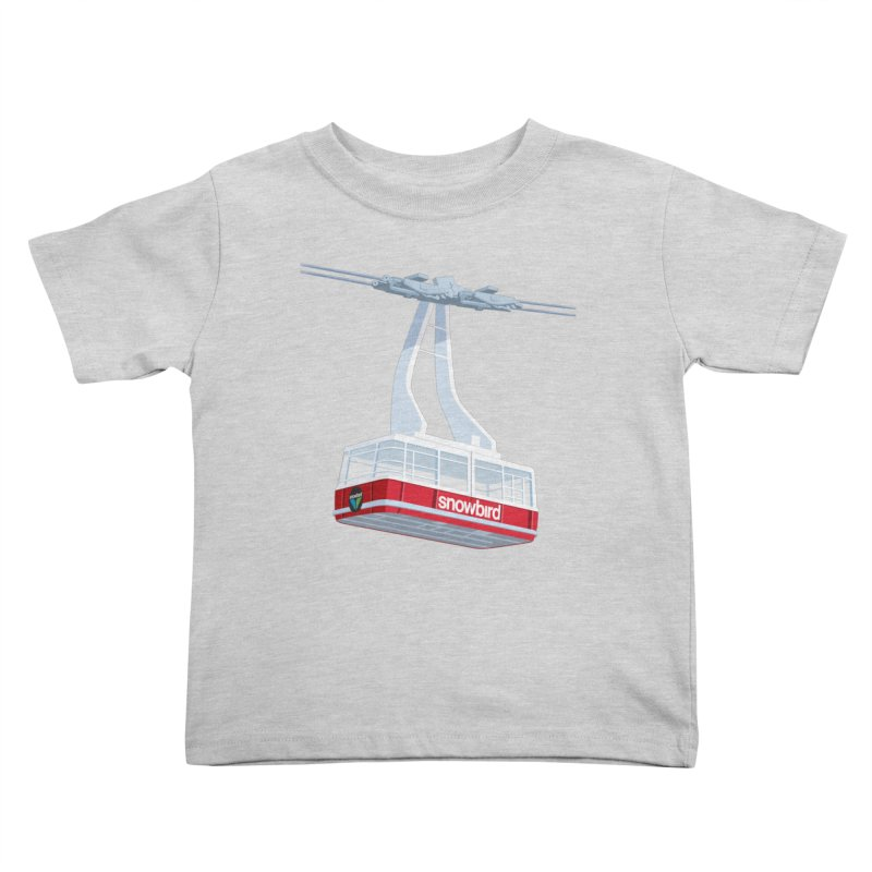 Snowbird Kids Toddler T-Shirt by steveash's Artist Shop