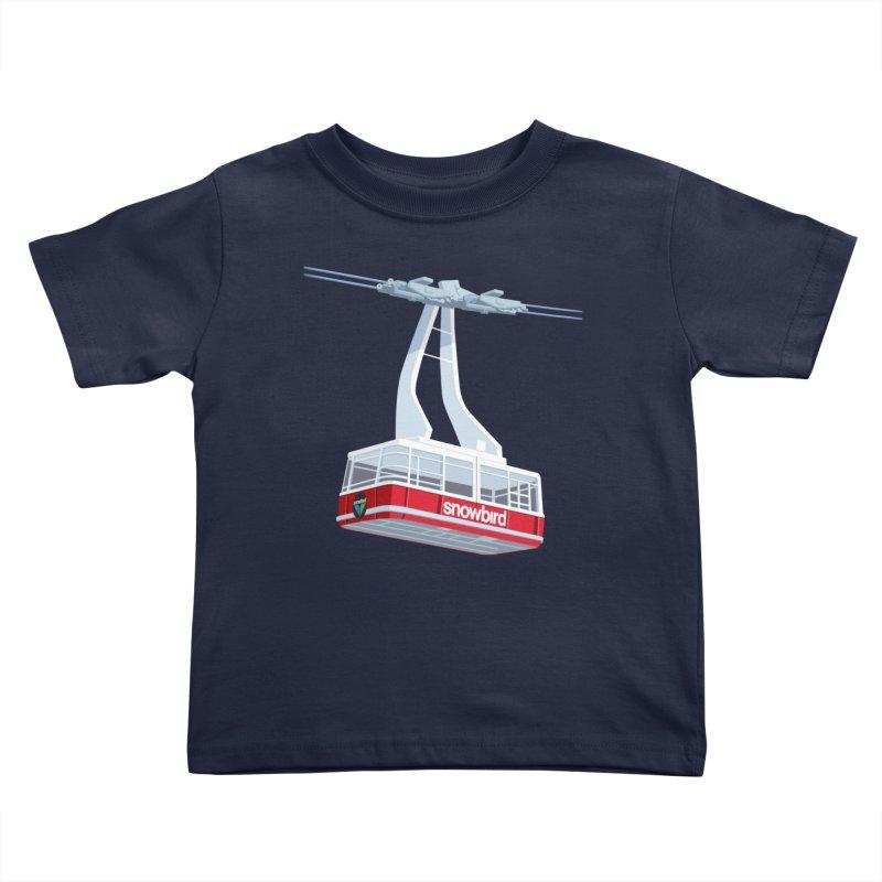 Snowbird Kids Toddler T-Shirt by steveash's Artist Shop
