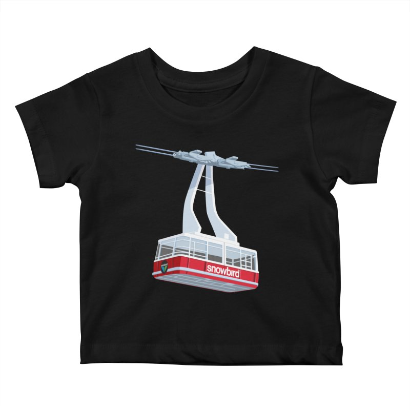 Snowbird Kids Baby T-Shirt by steveash's Artist Shop
