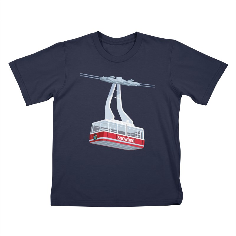 Snowbird Kids T-Shirt by steveash's Artist Shop