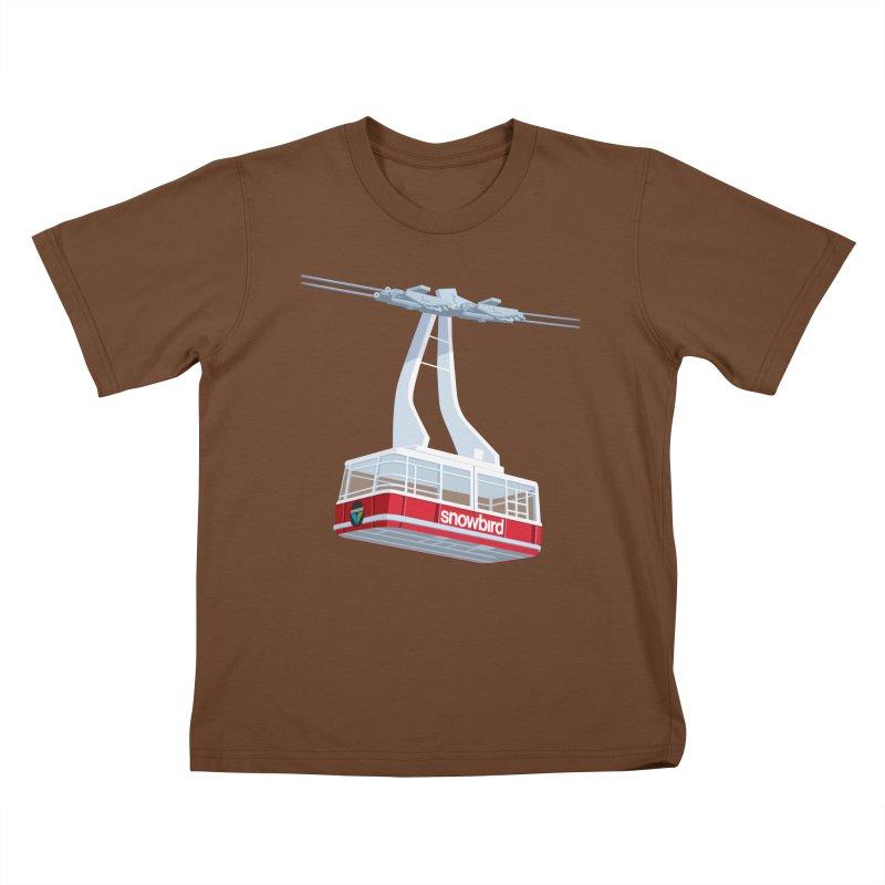 Snowbird Kids T-Shirt by steveash's Artist Shop