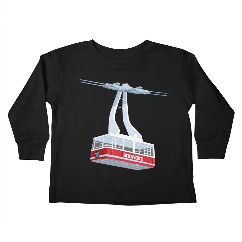 Snowbird Kids Toddler Longsleeve T-Shirt by steveash's Artist Shop