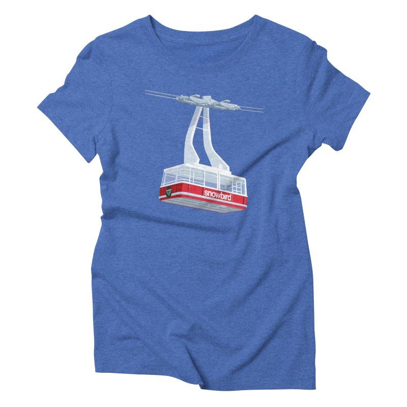 Snowbird Women's Triblend T-Shirt by steveash's Artist Shop