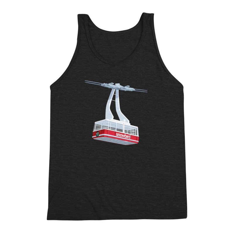 Snowbird Men's Triblend Tank by steveash's Artist Shop