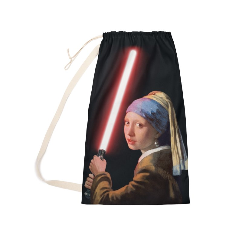 Girl with the Lightsaber Accessories Laundry Bag Bag by steveash's Artist Shop