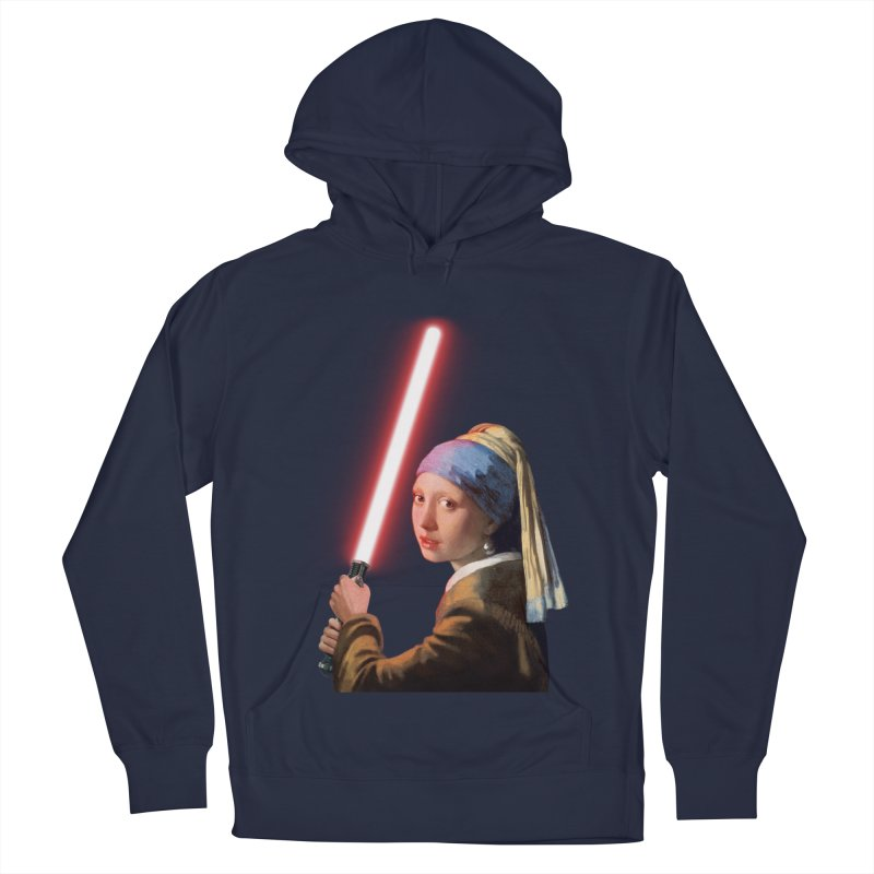 Girl with the Lightsaber Men's Pullover Hoody by steveash's Artist Shop
