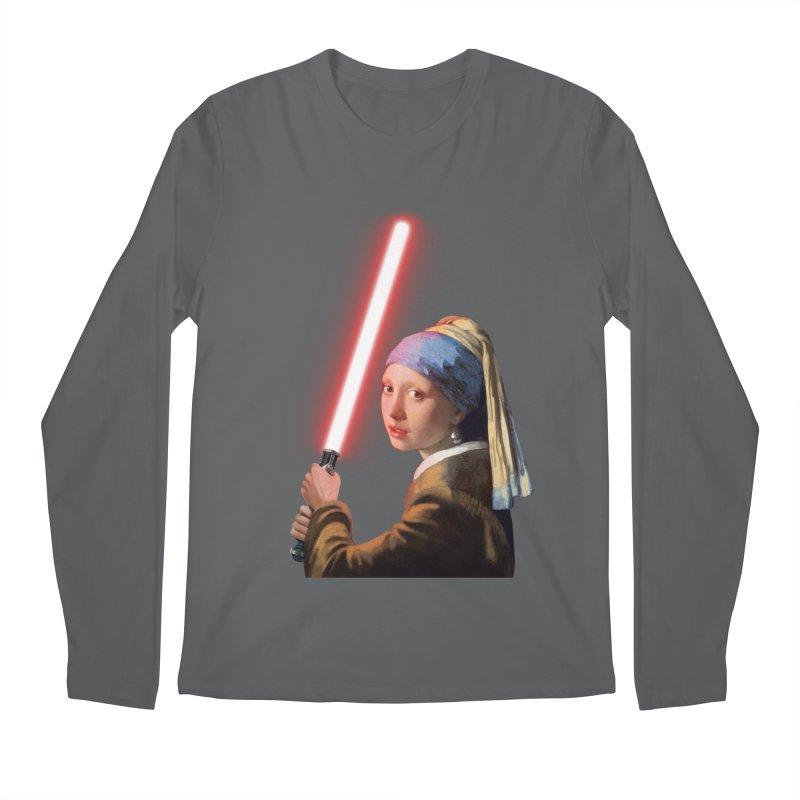 Girl with the Lightsaber Men's Longsleeve T-Shirt by steveash's Artist Shop