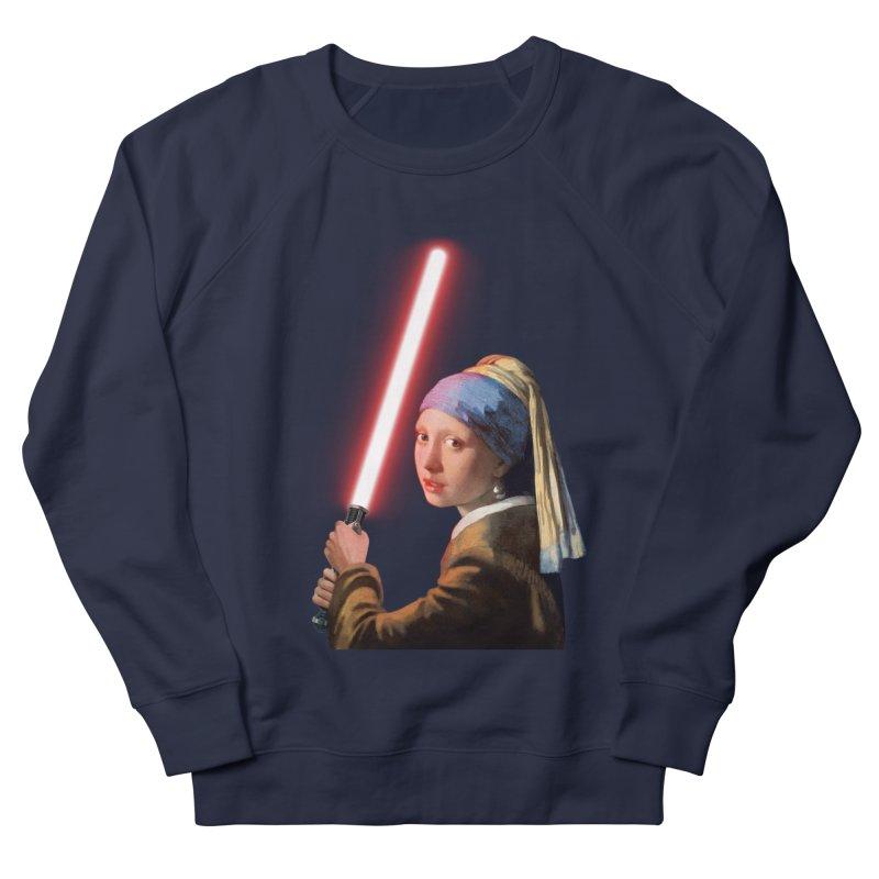 Girl with the Lightsaber Men's Sweatshirt by steveash's Artist Shop