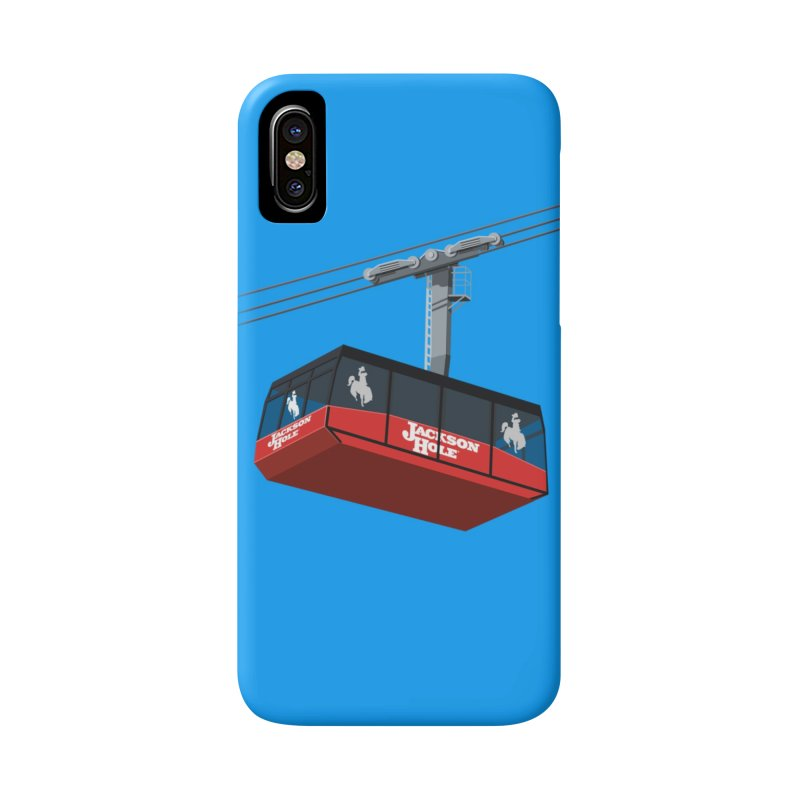 Jackson Hole Ski Resort Accessories Phone Case by steveash's Artist Shop